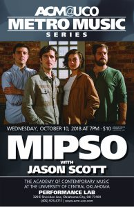 Indie Americana quartet Mipso headlines an Oct. 10 tour stop at ACM@UCO Performance Lab, 329 E. Sheridan Ave., in Bricktown.