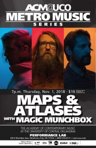 Maps & Atlases concert poster