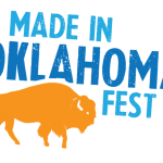 Made In Oklahoma Festival logo with buffalo