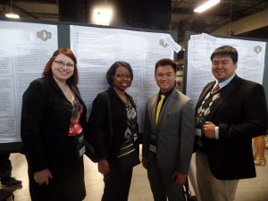DSS Students present their research at Oklahoma Research Day 2015.