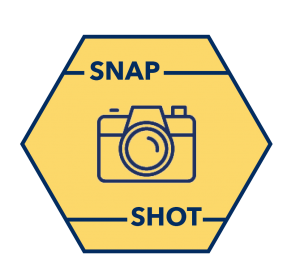 "an icon with a camera and the words ""Snap"" and ""Shot"""