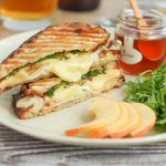 Chicken Brie and Apple Panini