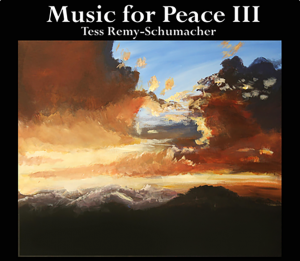 CD cover with cloudy sunset
