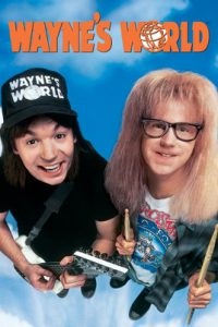 Official Movie Poster from Wayne's World, 1993