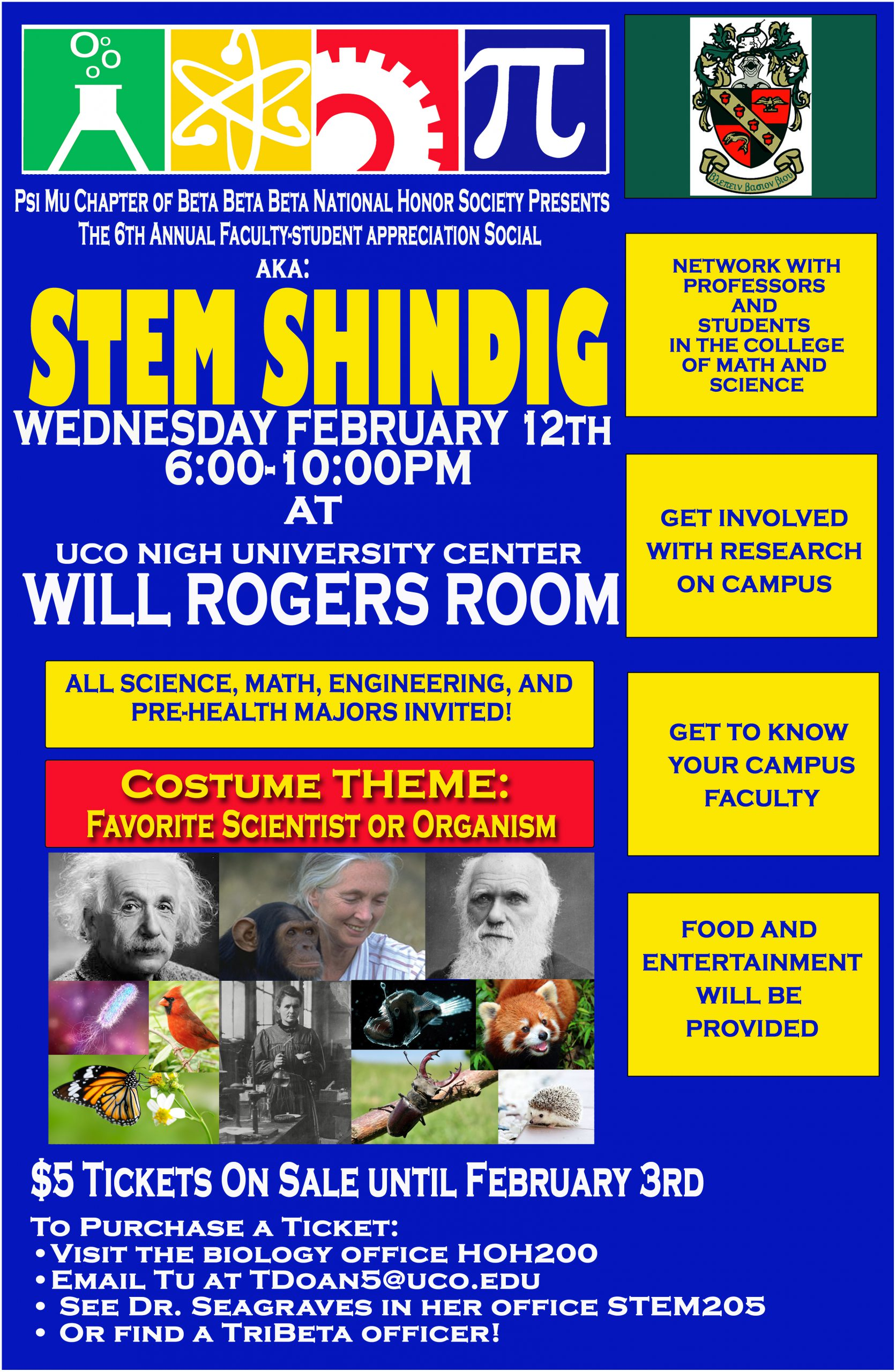 STEM Shindig taking place Wednesday Feb 12th 6 to 10 PM