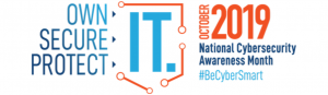 Stop. Think. Connect. October is national cybersecurity month.