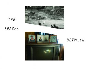 an image of old framed family photos on an old television below an image of a black and white newspaper photo from the tulsa race massacre