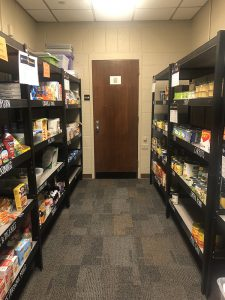 photo of Central Pantry, July 2020