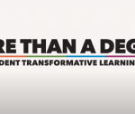 "screenshot of move title screen ""More than a degree: UCO's Student Transformative Learning Record"""