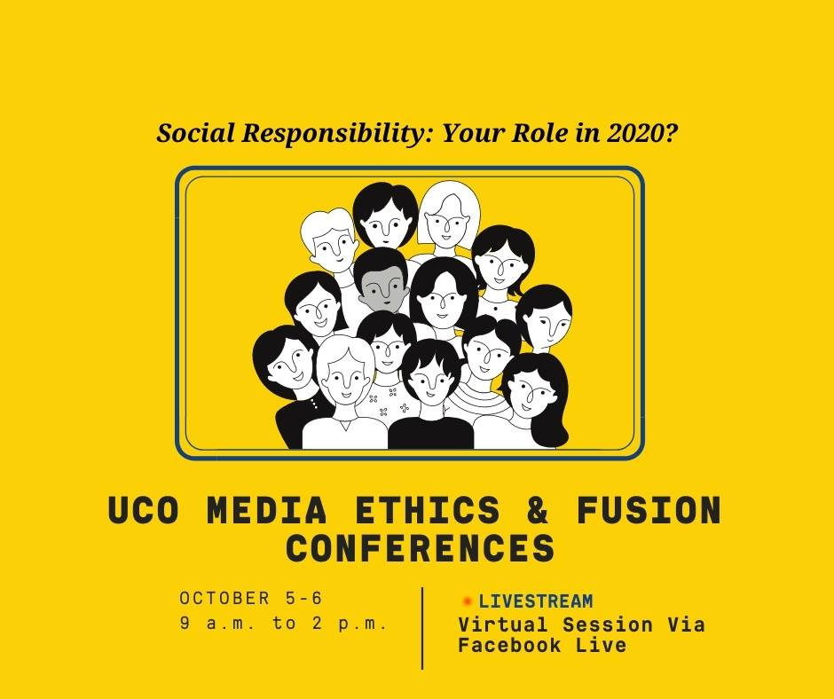 UCO Media Ethics & Fusion Conferences graphic