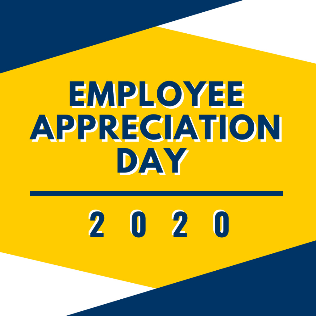 Employee Appreciation Day 2020 graphic