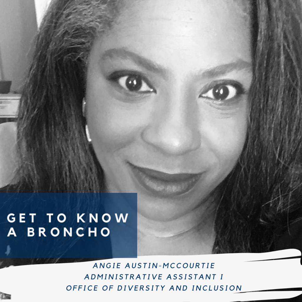 Angie Austin-McCourtie, Administrative Assistant I, Office of Diversity and Inclusion