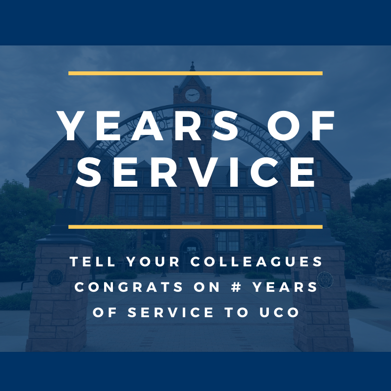 years of service graphic