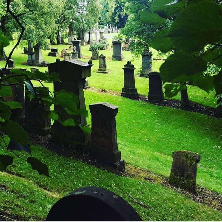 Photo of the Glasgow Necropolis