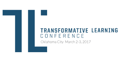 Logo of the Transformative Learning Conference 2017, March 2-3, Oklahoma City