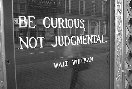 be curious not judgmental image