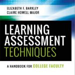 Image of the cover of a book: Barkley & Major, Learning Assessment Techniques