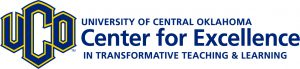 Graphic logo for University of Central Oklahoma's Center for Excellence in Transformative Teaching and Learning