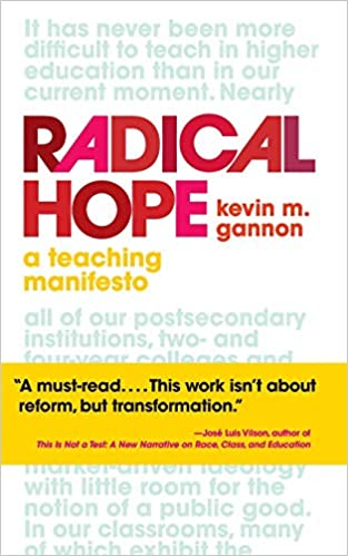 cover of the book Radical Hope: a teaching manifesto