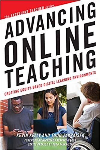 Front cover of the book Advancing Online Teaching-Creating Equity-Based Digital Learning Environments