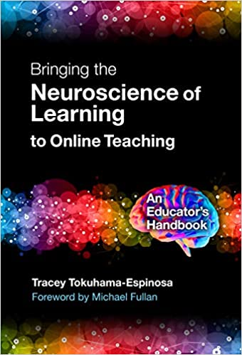 cover of book, Bringing the Neuroscience of Learning to Online Teaching