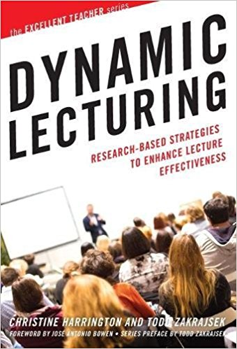 Book cover of author Christine Harrington's Dynamic Lecturing: Research-Based Strategies to Enhance Lecture Effectiveness