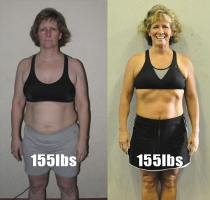 what is better to lose weight or inches